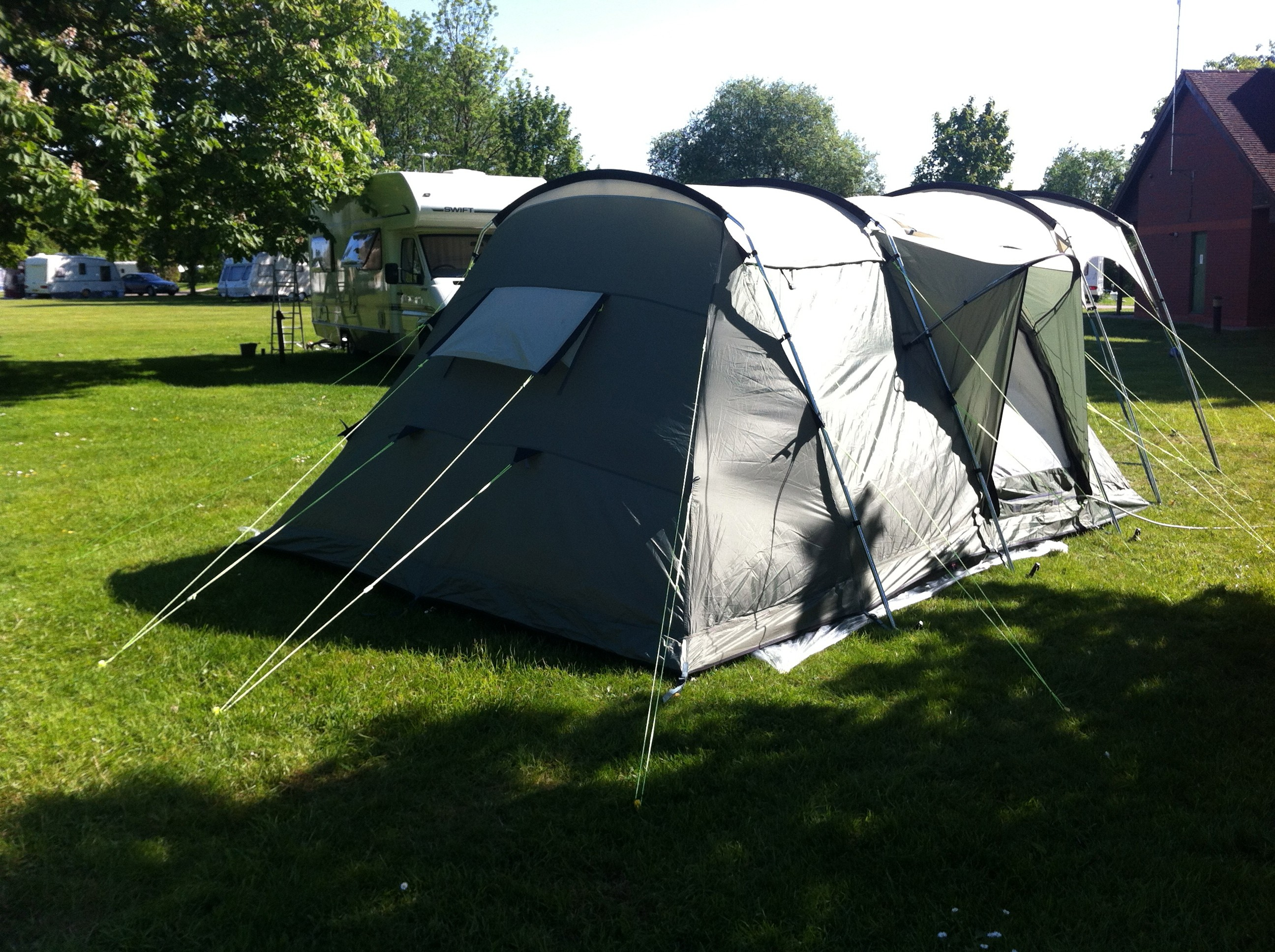 Used Outwell Minnesota 4 with Canopy